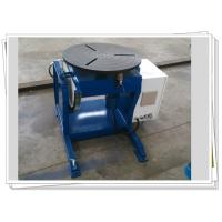 China Pipe Automatic Rotary Welding Positioners Manual Tilt 300kg Weldment wholesale