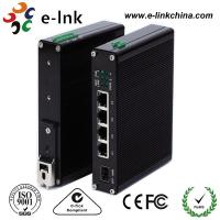 China 10 / 100M Industrial Ethernet POE Switch , 8 Port Power Over Ethernet Switch wholesale