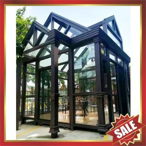 China Prefabricated glass house,sun room,sun house,aluminium structure house,super durable! on sale