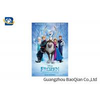China PET / PVC / PP 3D Lenticular Poster Printing , Cartoon Lenticular Movie Poster Advertisement wholesale