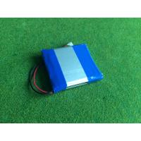 3.7v 2700mah li polymer battery with Connector Rechargeable 1S2P Lipo P553759