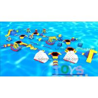 China 30x20m 0.90mm Plato PVC Inflatable Aqua Park Customized EN15649 wholesale