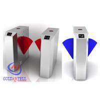 China CE Approved Alarm Retractable Flap Barrier Gate , access control barrier with IR Sensor wholesale