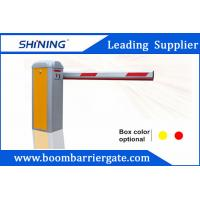 China 1.8mm Remote Control Traffic Barrier Gate For Indoor Or Outdoor Parking Lot wholesale