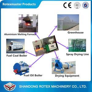China 450000 kcal Biomass Wood Burner / 1.15kw Industrial Pellet Burner For Steam Boiler wholesale