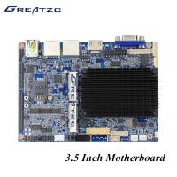 China N2807 VGA HDMI LVDS 3.5 Inch Fanless PC Motherboard With 6 COM 2 LAN GPIO LPT wholesale