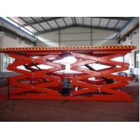 China Dual Fork Elevating Work Hydraulic Scissor Lift Tables Hydraulic Lifting System wholesale