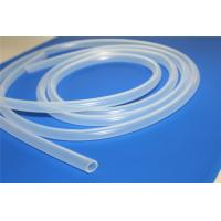 Quality Pure Flexible Silicone Tubing Wear Resistant For Coffee Machine / Industrial for sale
