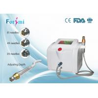 China Portable fractional RF microneedle machine 80W RF output power 5Mhz frequency wholesale