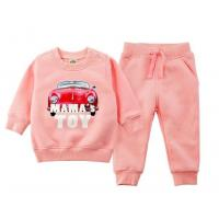 China Winter Infant Baby Girl Clothes / Long Sleeve Bodysuit With Pocket wholesale