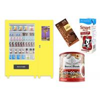 China Self Automatic Snack Combo Vending Machine , Conveyor Belt Vending Locker With Elevator on sale
