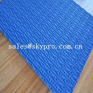China Anti-slip Shoe Sole Rubber Sheet EVA / rubber foam material wholesale