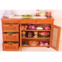 China Large Space Indoor Storage Cabinets Kitchen Cabinet Table Customized Size wholesale