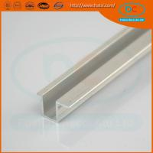 China High quality CP brush aluminum window profile, Matt aluminum window section, window profile wholesale