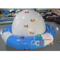 China DIA 3M Inflatable Floating Water Spinner Towable Water Sports Saturn For Adults wholesale