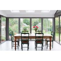 China Waterproof Commercial Aluminium Doors Sliding Window Heat Insulated Materials wholesale