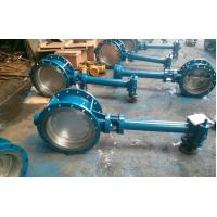 China Double Flanged Butterfly Valve Adjust Tightness With Hand Wheel Dn50 To Dn400 wholesale