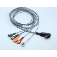Buy cheap DMS Holter ECG Patient Cable 5 / 7 / 10 Lead 19 Pin With 6 Month Warranty from wholesalers