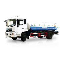 China White Liquid Tanker Truck , Water Spraying Truck Front Spray Rear Sprinkling Side Spray Gun on sale