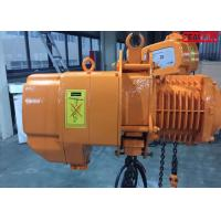 China Fast speed Heavy Duty Electric Chain Hoist cap 10 ton SGW 3 phase 60hz wholesale