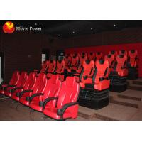 China 3-Dof Large Cinema With Auto Seat Theater 5D Movie Chair With Special effects wholesale