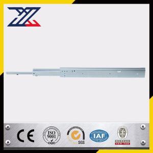 China Baosteel Cold Rolled Plate Sheet Metal Stamping / Riveting Ball Bearing Drawer Slides wholesale