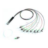Buy cheap FTTH Single Mode Fiber Optic PLC Splitter Mini GPON With FC Connectors from wholesalers