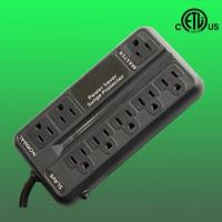 China US 8 outlet ETL listed energy saving surge protector on sale