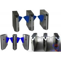 China Brush Motor Flap Barrier Gate For Office / Hospital Building Automatic Systems Turnstiles wholesale