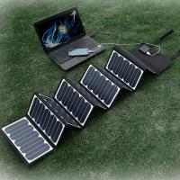 High efficient 60w  Solar Panel  for iPhone 6  /  iPad  /  Samsung Galaxy Phone