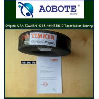 China Automotive Tapered Roller Bearing , Timken aerospace Authorized H238140 / H238110 wholesale
