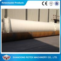 China Industrial Rotary Dryer Machine / Rotary Drum Biomass Dryer Equipment wholesale
