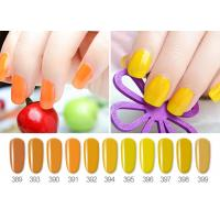 Buy cheap No Odor Full Nature Color Glossy UV LED Gel Nail Polish ISO22716 SGS from wholesalers