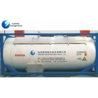 Quality Bulk R404A HFC Refrigerant Gas ISO Tank For Low Temperature Refrigeration for sale