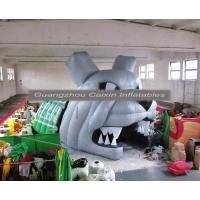 China inflatable mascot bulldog helmet tunnel for sale wholesale