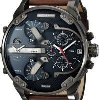China Wholesale NEW DIESEL DZ7314 BROWN LEATHER MENS MR DADDY 2.0 57MM CHRONOGRAPH WATCH wholesale