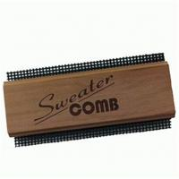 China wooden double side teeth Cedar cashmere comb on sale