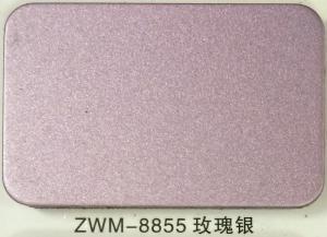 China Chemical Polishing Rose Silver 1220*2440mm Solid Aluminium Sheet wholesale