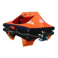 China Marine Inflatable Life Raft, Throw-over/Davit-launch/Self-righting/Open Reversible Liferaf wholesale