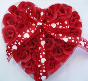 China soap flower, bath flower soap, paper flower soap, rose flower soap,promotion gift wholesale