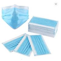 China 3Ply Surgical Face Mask Non Woven Air Anti Virus and Dust disposable Surgical Medical Face Mask , wholesale