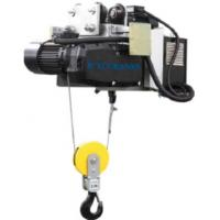 China Headroom Electric Wire Rope Hoist With Motor Trolley Designed Double Speed wholesale
