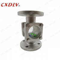 China Flanged Double Window Sight Glass Floating Ball Type wholesale