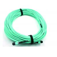 China MPO Fiber optic Patch Cord 50 / 125 OM3 12C for High Speed Data Center on sale