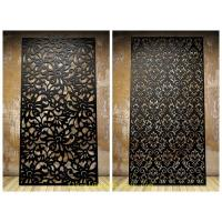 Quality 2.5mm thickness tree design metal aluminum veneer sheet facade cladding panel for sale