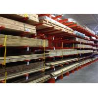 Anti Corrosion Galvanised Cantilever Racking , Cantilever Steel Storage Racks