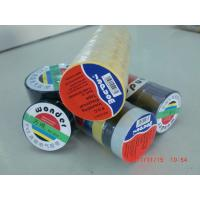 Wholesale Glossy Rubber Based Adhesive PVC Electrical Tape Black / Red / Green Shiny Film from china suppliers
