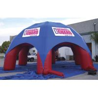 China 10m dia  pvc coated tarpaulin inflatable advertising tent,dome tent with 6 leg wholesale