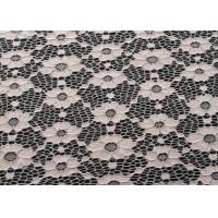 China Eco-Friendly Vintage Elastic Lace Fabric For Fashionable Dress CY-DN0003 wholesale