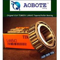 China Open Timken Tapered Roller Bearing L44643 And L44613 Radial Flanged Bearing wholesale
